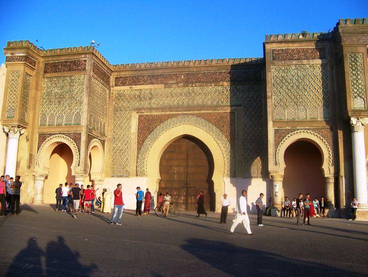 Meknes: Bab Mansour