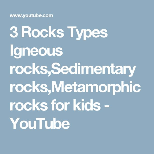 igneous rocks for kids - photo #20