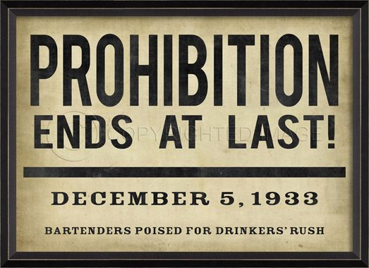 Upon the realization that experiment had not only failed but that America just needed a drink to deal with their new found poverty congress repealed the 18th amendment.