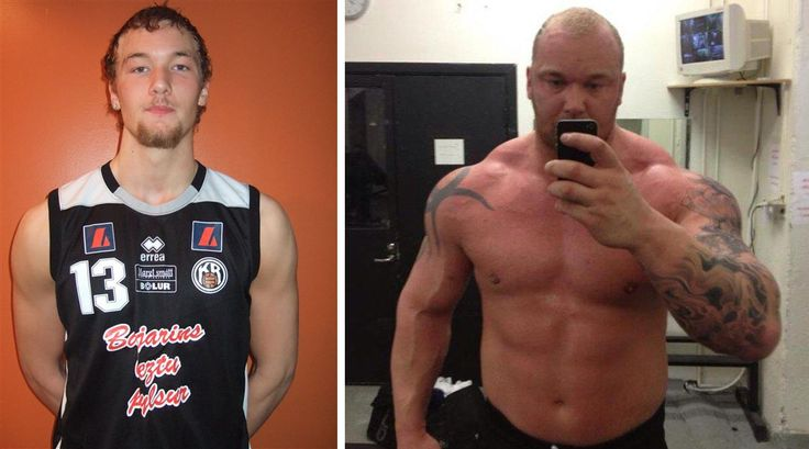 Hafthor-Bjornsson 6 years before and after | POST RANDOM ...