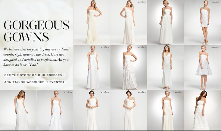 Ann taylor wedding dresses wedding dress trend pinterest ann taylor wedding dresses wedding dress trend pinterest gowns ann taylor wedding dresses and wedding dress trends junglespirit Image collections