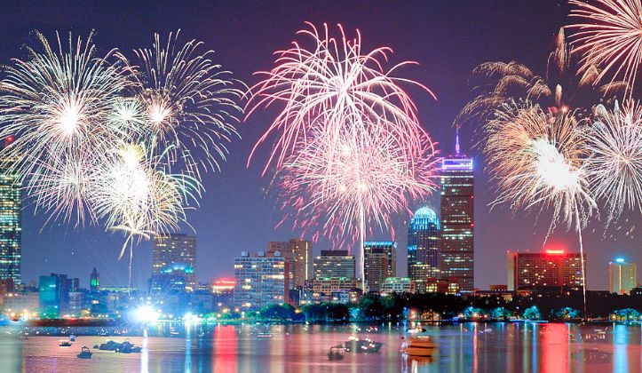 Coolest Places to Watch the Fourth of July Fireworks in Boston