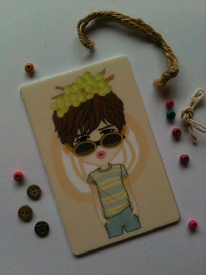 Exclusive CARD | acrylic Leader GYU ver. | ready to SALE (ORDER NOW) | @ 17K IDR (per item) (convr: 2 USD)| created by +Ratna Har (Little Lumut)