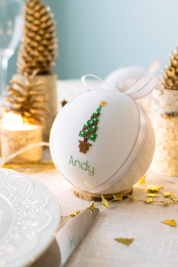 Winter wedding favors Christmas table decoration Winter by RedPin