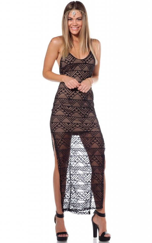 6 more pics of maxi dress in black lace,new design maxi dress,attractive and sexy maxi dress,party dress for ladies,unique design maxi dress,new fashion,