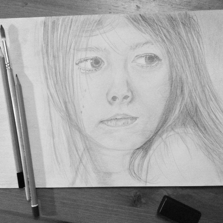 #portret #draw #drawing #rysunekolowkiem #rysunek #olowek #jarlew75 #jaroslawlewandowski #grafik #freelancer #papier #art #dziecko #dziewczyna