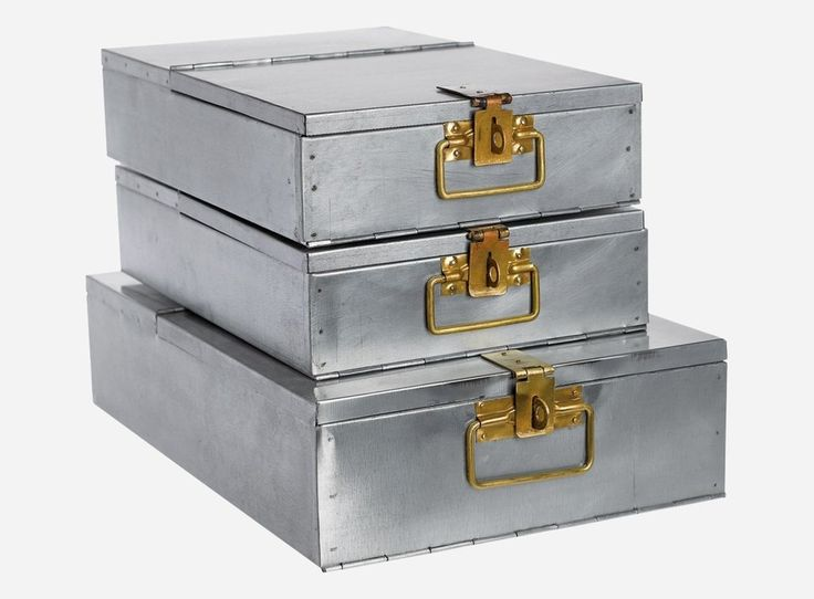 Document Box i Metall
