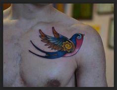 Significado de tatuarse golondrinas - http://www.tatuantes.com/significado-de-tatuarse-golondrinas/