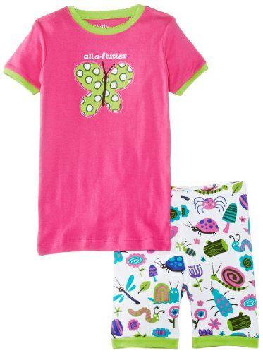 Hatley Girls Bugs Short Pajama Sleep Set