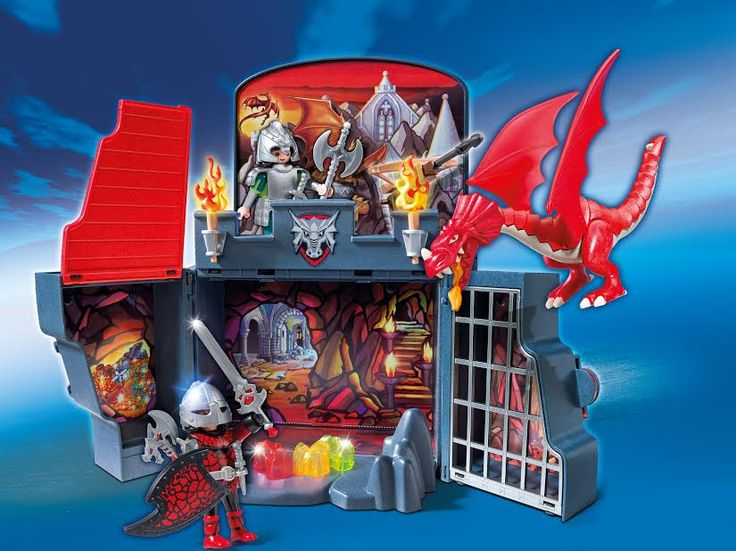 Enter to win a PLAYMOBIL Dragon Lair Play Box at www.mybabystuff.ca!