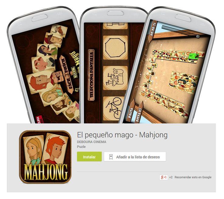 """¡HORAS DE ENTRETENIMIENTO! Elimina todas las piezas del tablero emparejándolas, ambientado en la película """"El Pequeño Mago"""", el clásico Mahjong Solitario ahora en 3D. Descárgalos gratis en tu dispositivo móvil https://play.google.com/store/search?q=deboura%20cinema&hl=es  o juega online http://elpequeñomago.es/  #juegos #gratis #game #free #Mahjong #pelicula #animacion #clasico #descarga #descargagratis #freedownload"""