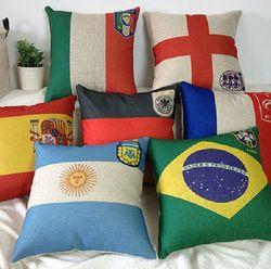 Online Shop nacional equipe brasil copa do mundo de futebol reforçar headrest travesseiro almofada fronha fronha brasil, itália, argentina, inglaterra|Aliexpress Mobile