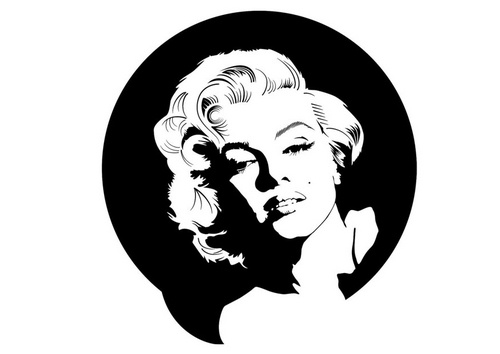 printable marilyn monroe coloring pages - photo#34