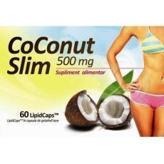 CoConut Slim - ulei virgin de nuca de cocos pentru scaderea in greutate.