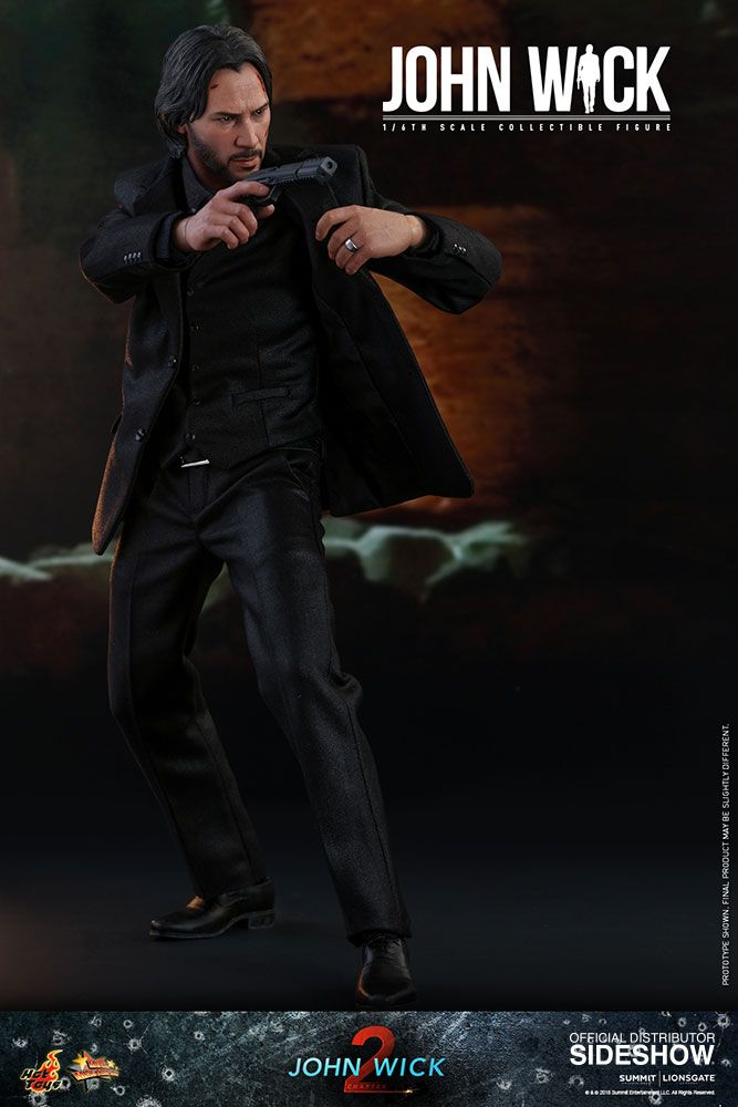 John Wick Sixth Scale Figure By Hot Toys Sideshow Collectibles Hot Toys John Wick Movie Keanu Reeves