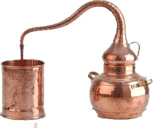 alambiques and distillation
