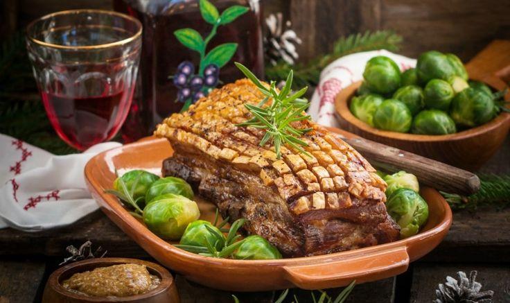 Рецепт - Юлериббе - запеченные свиные ребрышки