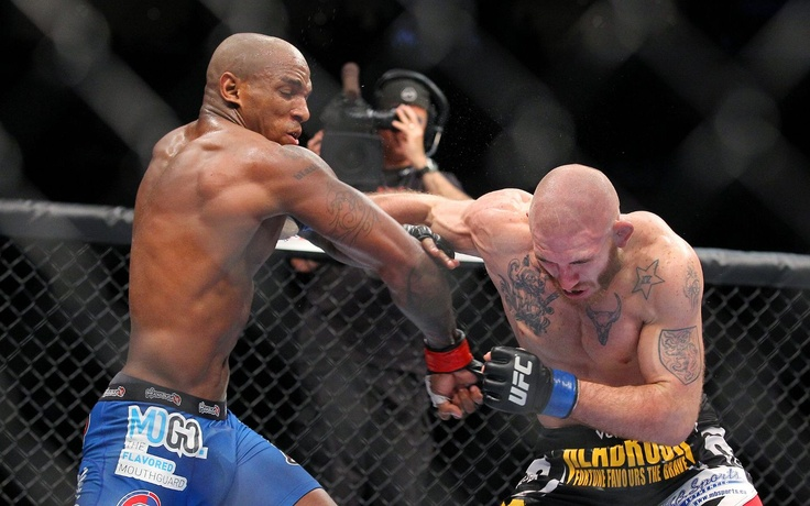 Francis Carmont and Tom Lawlor
