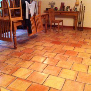 Red Spanish Tile Floors