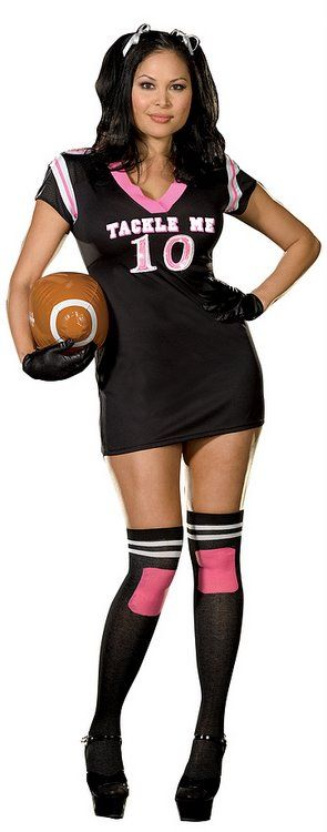 from Bradley sexy women football player costume