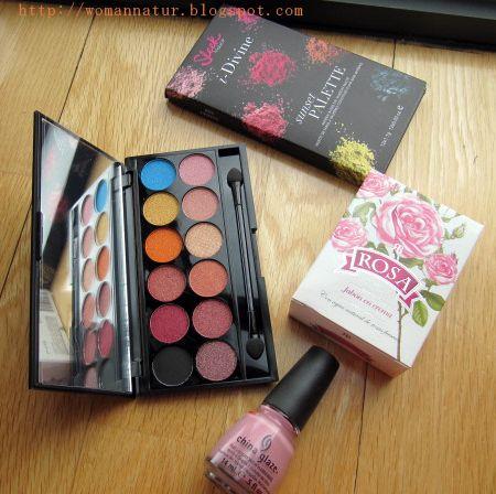 Sorteo paleta Sleek   pintauñas China Glaze   jabón Rosa de Bulgaría