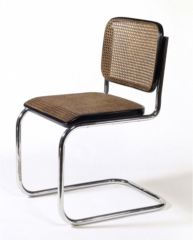 Marcel Breuer, Cesca chair 1928; Manufacturer: Gebrüder Thonet, Vienna, Austria