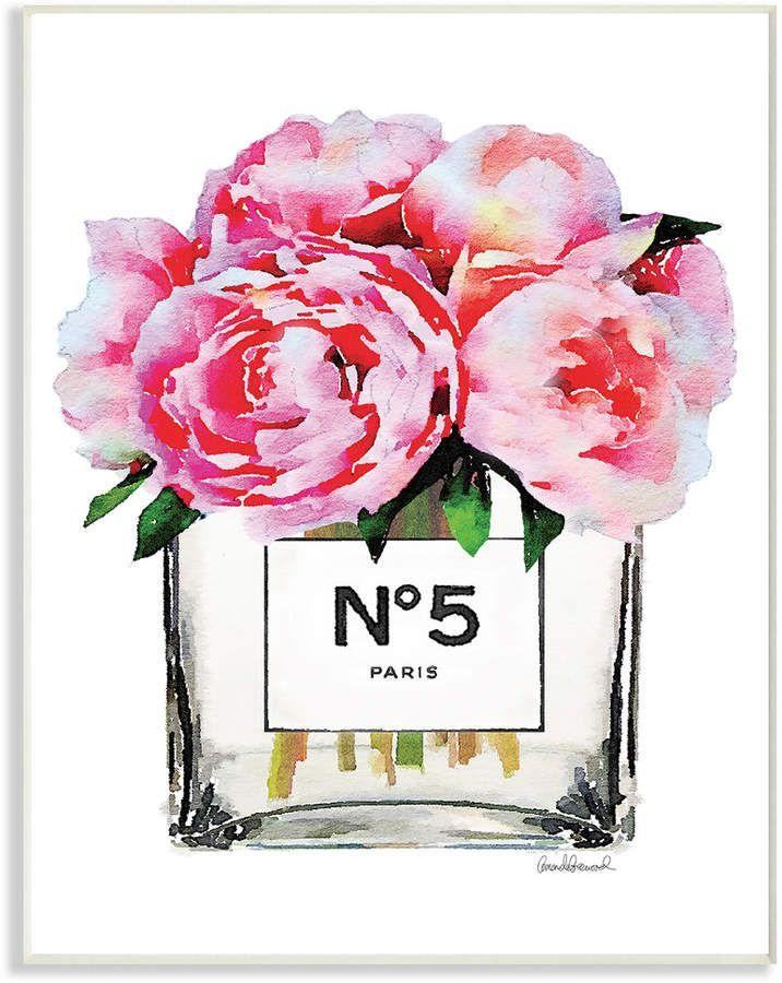 Stupell Glam Paris Vase With Pink Peony By Amanda Greenwood