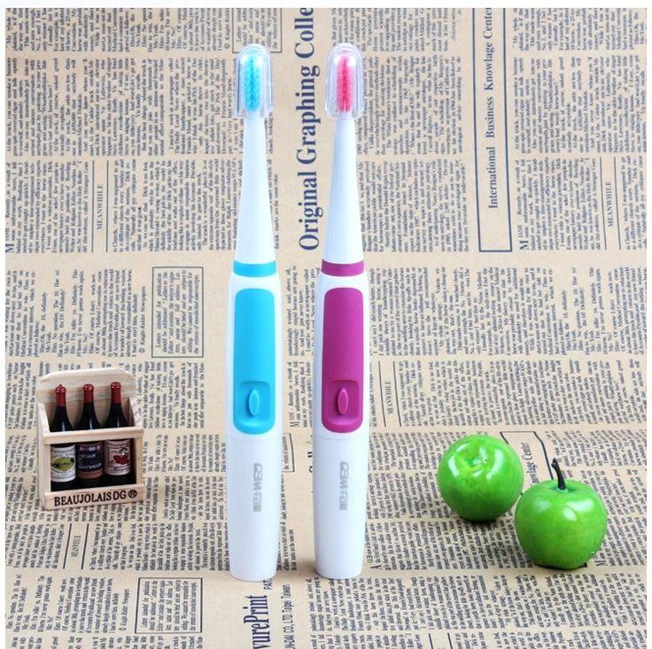 Escova de dentes elétrica QBM DY-06 impermeável adultos recarregável escova de dentes de segurança de brosse um dente alishoppbrasil