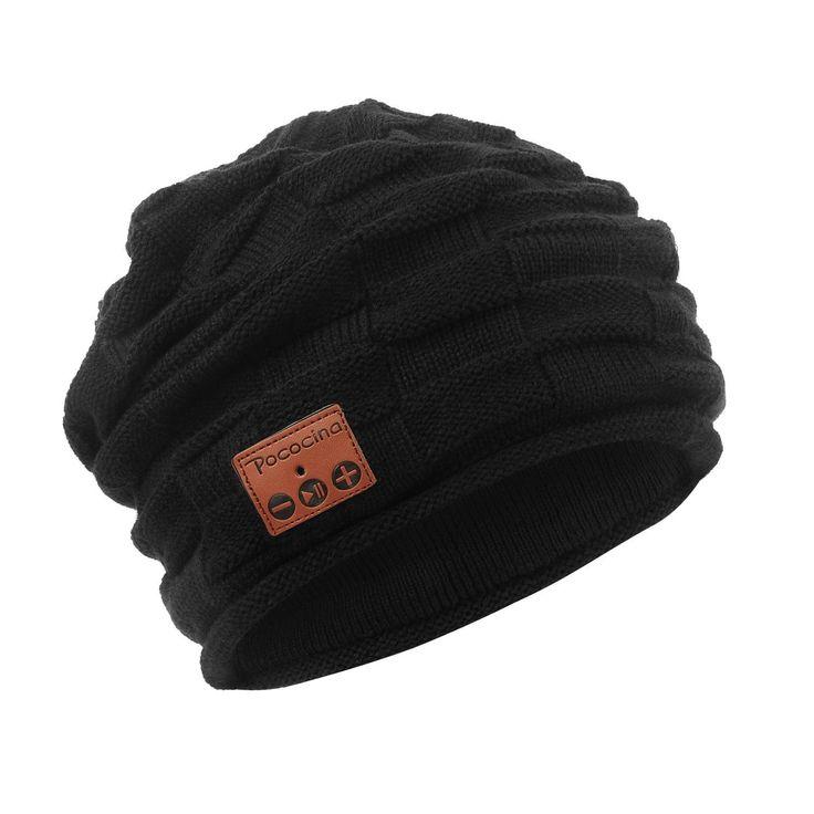 Pococina Wireless Hands-Free Bluetooth Beanie Hat Sport Speaker Knit Cap, Built-in Mic $12.98 - http://supersavingsman.com/pococina-wireless-hands-free-bluetooth-beanie-hat-sport-speaker-knit-cap-built-mic-12-98/