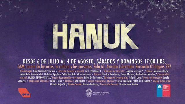 "TRAILER ""HANUK"" 2013 Theatreplay"