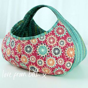 Gondola Basket Sewing Pattern for quilting by Beth Studley                                                                                                                                                     More