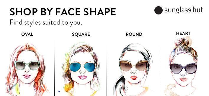 oversized sunglasses for round face