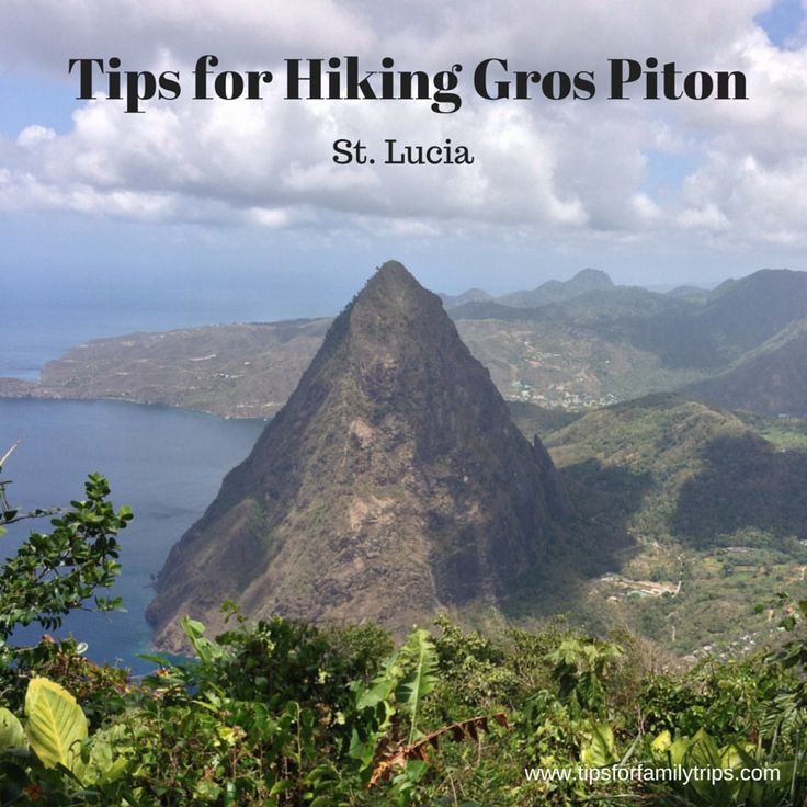 Tips for hiking Gros Piton in St. Lucia. Great cruise excursion if you plan it right!