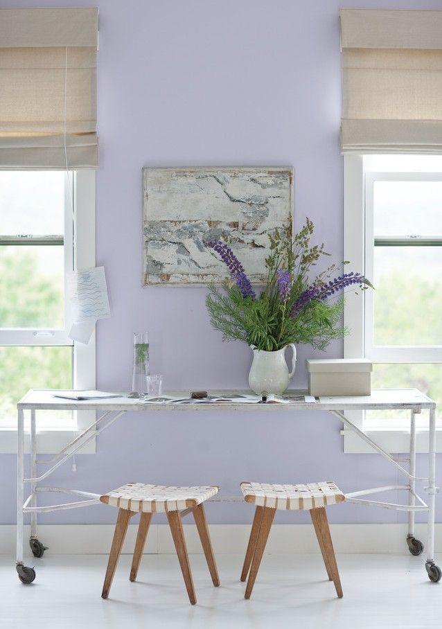 Die besten 25+ Lavendel wände Ideen auf Pinterest Rustikaler - wandfarbe im schlafzimmer