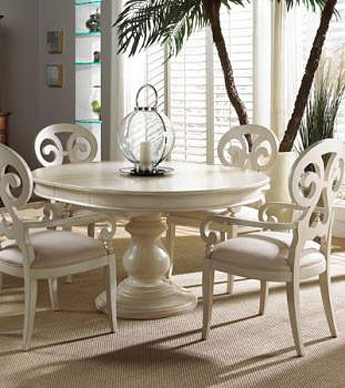 Fine Furniture Summer Home Round Dining Dining Room Set 1051 By Dining  Rooms Outlet