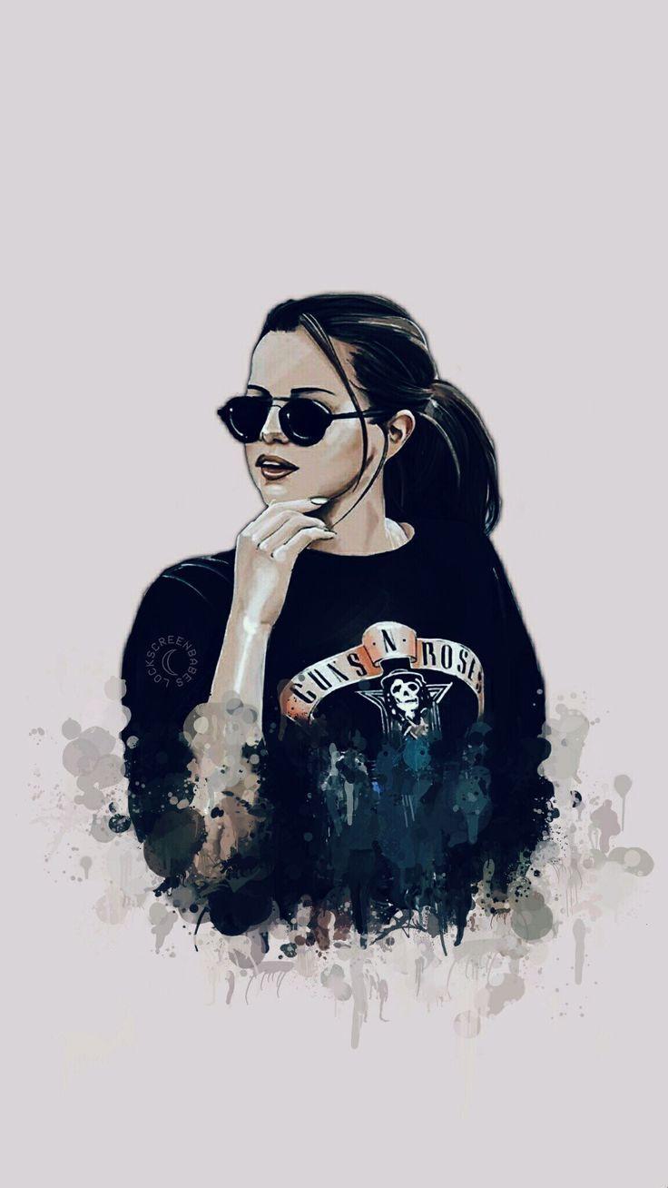 Pinterest Aphra Lukisan Wajah Ilustrasi Gambar Mode