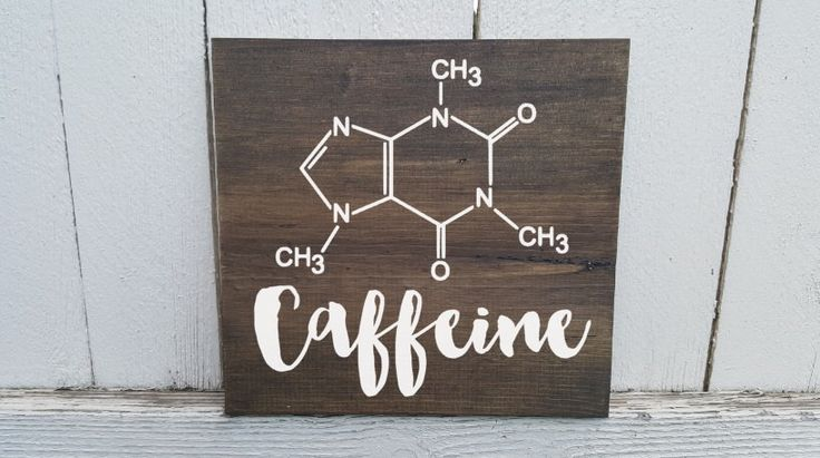 Caffeine Molecule - Caffeine Molecule Sign - Coffee Sign by CustomPaintedSigns4U on Etsy https://www.etsy.com/listing/268402281/caffeine-molecule-caffeine-molecule-sign