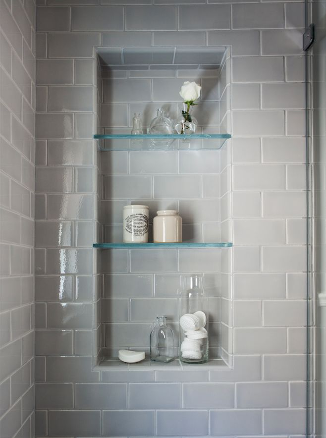 Grey tile for showers\/tubs. 2014 Remodelista Considered Design Awards Open to all: Enter through July 7. Vote after July 14.