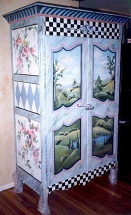 Whimsical Painted Furniture | Whimsical Furniture | Painted Furniture