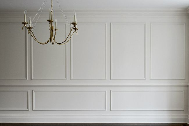 Dining Room Paneled Walls