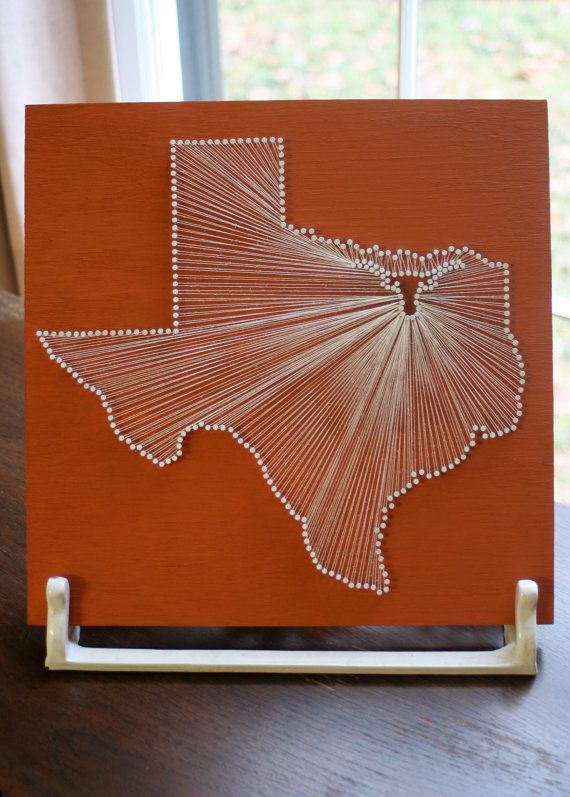 85 best string art images on pinterest string crafts nail texas longhorn reclaimed wood nail and string tribute to the university of texas prinsesfo Image collections
