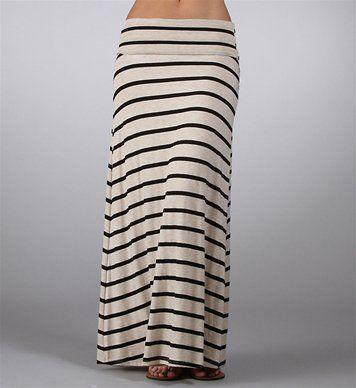 #Windsor                  #Skirt                    #Black/Tan #Striped #Maxi #Skirt                    Black/Tan Striped Maxi Skirt                                                  http://www.seapai.com/product.aspx?PID=1733890
