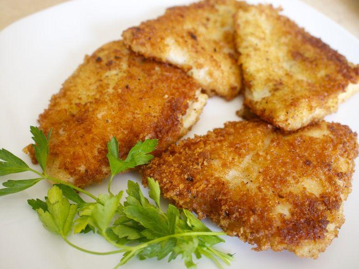 My new favorite fish!  Panko breaded swai - minus the lemon pepper :)