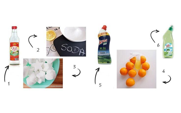 Środki do mycia toalety