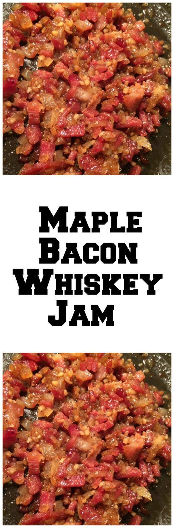 Maple Whiskey Bacon Jam