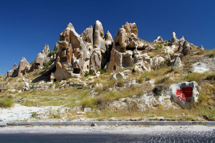 Cappadocia Region is located in the center of the Anatolian Region of Turkey.