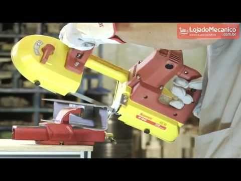 Maquina Serra de Fita Portatil 700W - - STARRETT-S1010 STARRETT-S1010 - R$ 498.90 na LojadoMecanico