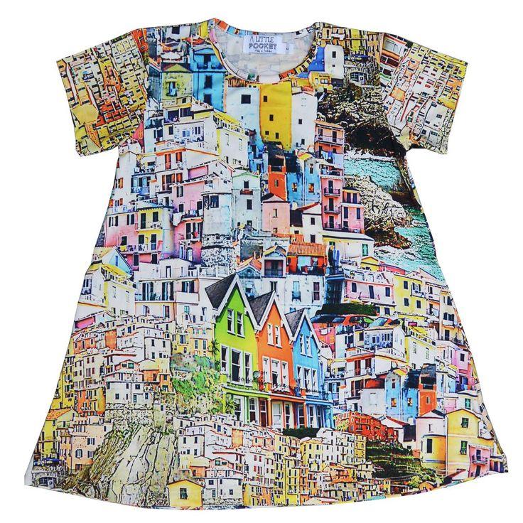 A Little Pocket Home Dress