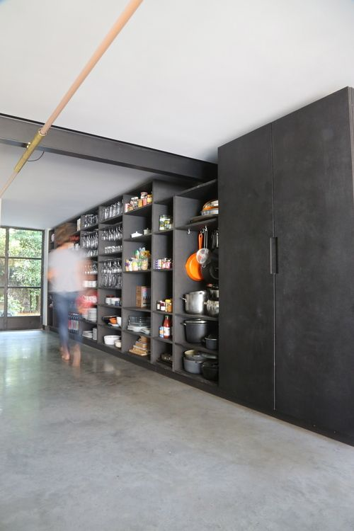 OPEN STORAGE WALL