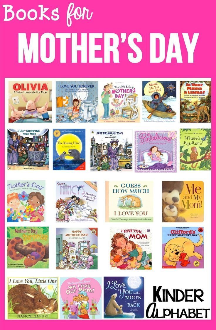 21 Books For Mother's Day